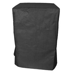 iCOVER 600D Heavy Duty Canvas Water Proof All Weather Smoker Cover G21615 Under Size: 21″( ...