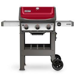 Weber 45030001 Spirit II E-310 Gas Grill LP Outdoor, Red