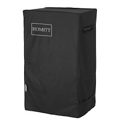 Homitt 30-Inch Smoker Cover, Electric Smoker Cover with Update Material Features 2 Wind Against  ...