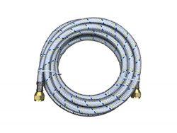 Propane, Natural Gas Line 12ft Aluminum Braided Hose LP LPG Grill Parts