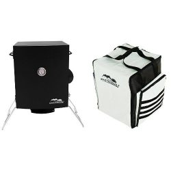 Masterbuilt 20073716 Portable Electric Smoker + Carrying Bag