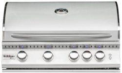 Summerset Sizzler Pro 32-inch 4-burner Built-in Natural or Propane Gas Grill W/ Rear Infrared Bu ...