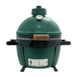 Big Green Egg Kamado Grill MiniMax Portable Outdoor Smoker barbeque BBQ