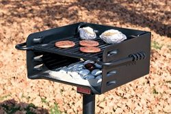 Pilot Rock Heavy-Duty Park-Style Grill – Model# H-16 B6X2
