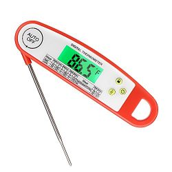 Meat Thermometer, ARNIL Waterproof Digital Meat Thermometer Instant Read Digital Food Cooking Th ...