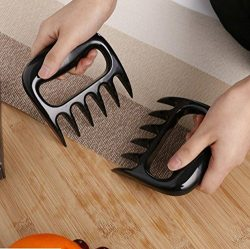 Aikotoo BBQ Meat Claws, Meat Shredder Claws, Air Fryer Accessory, Black,type C