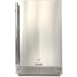 Blaze 20-inch Outdoor Rated Stainless Steel Refrigerator (BLZ-SSRF-40DH), 4.1 Cu Ft.