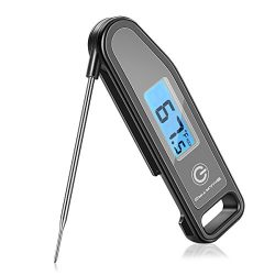 SMARTRO Meat Thermometer Instant Read Cooking Food Thermometer Digital Touch-Screen Thermometer  ...