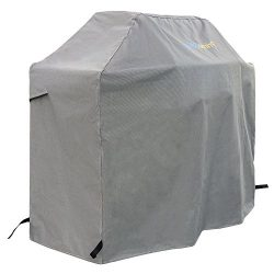 PrimeShield 600D BBQ Grill Cover, 64-inch Heavy Duty Waterproof Grill Cover with Air Vents for W ...
