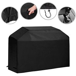 64 inch Grill Cover Waterproof Outdoor BBQ Gas Grill Cover Heavy Duty for Weber, Char Broil, Hol ...