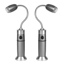 Zexmte Barbecue Grill Light with Magnetic Base Super-Bright LED Lights Adjustable 360 Degree Fle ...