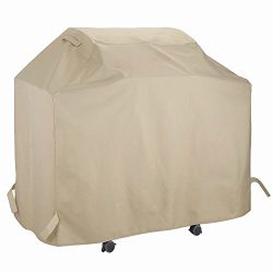 UNICOOK Gas Grill Cover 53 inch, Heavy Duty Waterproof Outdoor BBQ Cover, Easy Lifting Handles,  ...