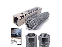 Premium Hexagon Wood Pellet Smoker Tube 12″ | Great For Any Grill | Hot and Cold Smoking | ...