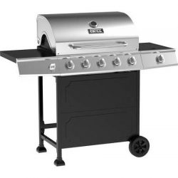 Backyard Grill 5-burner Gas Grill, Black