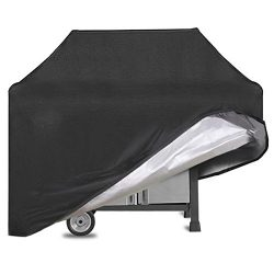 EUGO BBQ Gas Grill Cover 58 Inch Waterproof & Weather Resistant Heavy Duty 3-4 Burners Elect ...