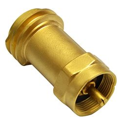 onlyfire Disposable Propane Cylinder Bottle Adapter- 1LB Propane Tank for Gas Grill Connector, Q ...