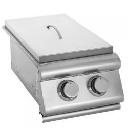 Slide-In Gas Double Side Burner Gas Type: Natural