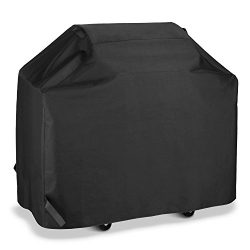 SunPatio BBQ Grill Cover 50 Inch, Outdoor Heavy Duty Waterproof Barbecue Gas Grill Cover, UV and ...