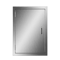 CO-Z Stainless Steel BBQ Access Door, 17″ x 24″ 304 SS Access Door for Commercial BB ...