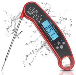 Digital Meat Thermometer, Puredazz Waterproof Instant Read Cooking thermometer Food Thermometer  ...