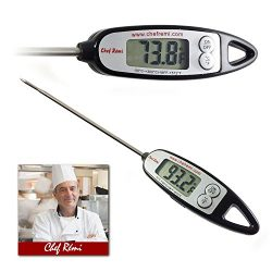 Latest Instant Read Digital Cooking Thermometer | Lifetime Replacement Warranty |Perfect for Ove ...