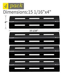 SHINESTAR Gas Grill Replacement Parts for Kenmore 141.16235, Grill Chef, 4-Pack 15 1/16 inch Por ...