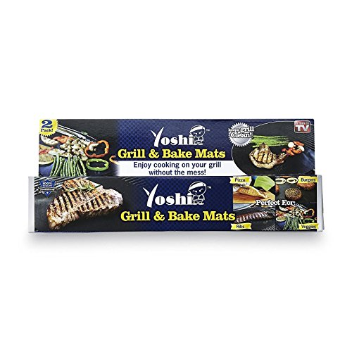Yoshi Grill Baking Mat Set Nonstick, 2 Pack