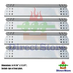 Direct store Parts DP130 (4-pack) Stainless Steel Heat Shield / Heat Plates Replacement Sunbeam, ...