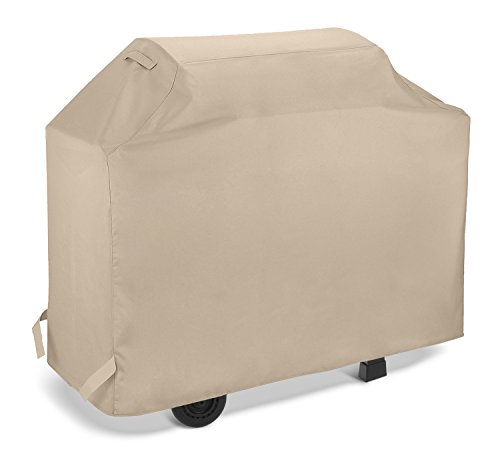 SunPatio Gas Grill Cover 58 Inch, Heavy Duty Waterproof Outdoor Barbecue Grill Cover, Durable Ch ...