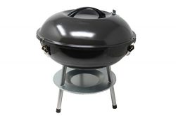 Hub Special Mini Barbecue Portable Charcoal Grill 14in with Steel, Barbecue Toll Sets, BBQ Grill ...
