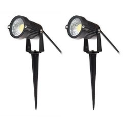 Familite Outdoor Waterproof Decorative Spotlight-8W COB LED Landscape Path Light AC/DC 12V with  ...