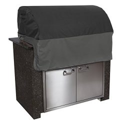 Classic Accessories 55-500-360401-EC Veranda FadeSafe Built-In Grill Cover, X-Small, Black
