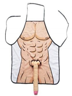 eSmart Sexy Naked Man Woman Couple 3D Apron Willy Boob Super Hero Party Apron Cosplay Lover Dres ...