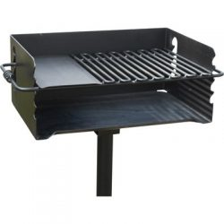 Jumbo Park Charcoal Grill – 384 Sq. In. of Cooking Space