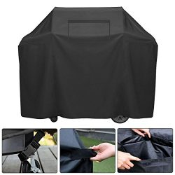 BougeRV 58-Inch 3-4 Burner Gas Grill Cover UV & Water Resistant Heavy Duty BBQ Grill Cover w ...