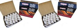 Chef-Master Gas Grill Ceramic Grill Briquettes, Grill Like a Pro Replaces Lava Rocks, 50 Count ( ...