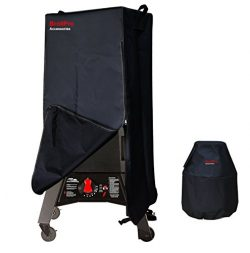 BroilPro Accessories Smoker Cover Fits Masterbuilt 20050716 Thermotemp Propane Smoker Including  ...