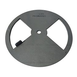 LavaLock® Smoker Pinwheel bbq air damper pit grill vent, STEEL 4 6 8 12 (6″ diameter)