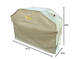 Felicite Home Up to 52″ Wide, Water Resistant, Air Vents, Padded Handles, Elastic hem cord ...