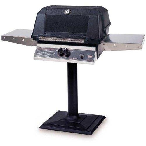 Mhp Gas Grills Wnk4dd Natural Gas Grill W/ Searmagic Grids On Bolt Down Post