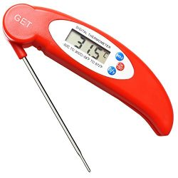 Food Thermometer,GET- Cooking Thermometer Instant Read Thermometer Candy Thermometer with Super  ...