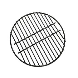 BBQ 15″ Porcelain Coated Steel Wire Cooking Grid Grate Replacement for Grill Dome Medium B ...