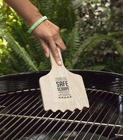 Charcoal Companion CC4139 Safe Scrape PRECISION The Non-Bristle Grill Cleaning Tool!