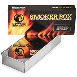 SMOKER BOX For Barbecues – Add Delicious Smoky BBQ Flavor to Your Grilled Meat – Smo ...