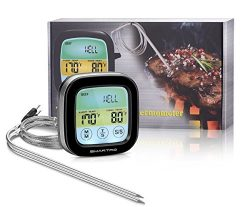 SMARTRO ST59 Meat Thermometer Instant Read Food Thermometer Digital Cooking Thermometer with Tim ...
