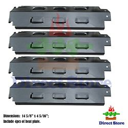 Direct store Parts DP133 (4-pack) Porcelain Steel Heat Shield/Heat Plates Replacement Charbroil, ...