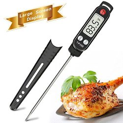 Meat Thermometer, totobay Food Thermometer Instant Read Thermometer Cooking Thermometer with Lon ...