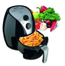 Eco+Chef 2.5QT 1300W Multi Functional & Versatile Air Fryer with Auto Shut Off Timer
