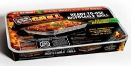 Original Instant Disposable Charcoal Grill On-the-Go Ready to Use by EZGrill Large Party Size 1-Pack