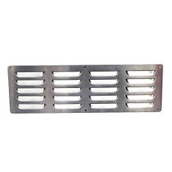 Boone Hearth Stainless Steel Vent for Outdoor Grill Islands by